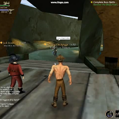 Kingshead Secret Dock and Cave entrence