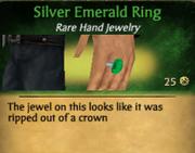 SilverEmeraldRing