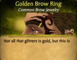 GoldenBrowRing