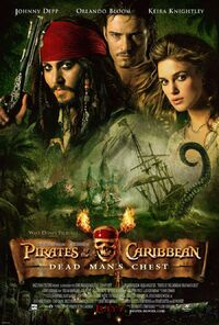 Pirates of the caribbean 2 poster b
