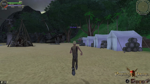 Isla Escondida Camp