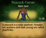 PeacockCorset