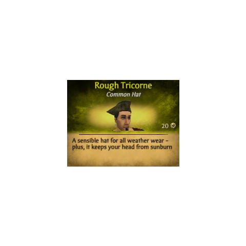 Green Rough Tricorne