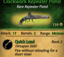 Clockwork Repeater Pistol