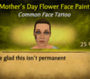 Mother's Day Flower Face Paint
