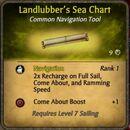 Landlubber's Sea Chart
