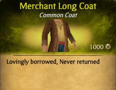 Merchant Long Coat