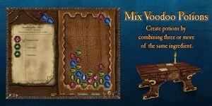 Loadingscreen minigame potions