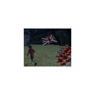 The British Navy invading Tortuga!