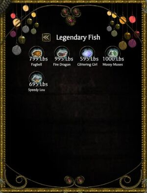 Legendary Fish Collection
