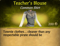 Teacher's Blouse