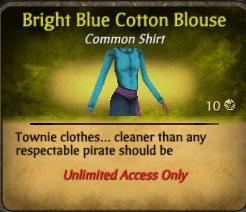 File:Bright blue cotton blouse.jpg