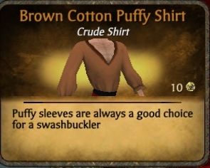 File:Cotton puffy shirt brown.png