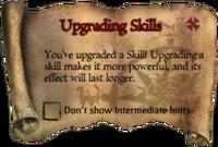 Scroll UpgradingSkills