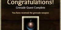 Weapon Unlock: Grenade