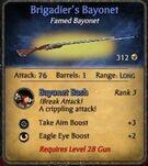 Brigadier sbayonet