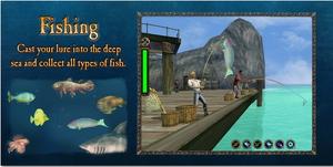Loadingscreen fishing