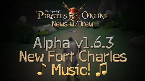 TLOPO News w Drew Alpha Update 1.6.3 - New Fort Charles Music!