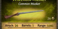 Wheellock Musket