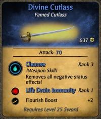Divine Cutlass