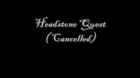 Potco Headstone Story Quest ( Cancelled )