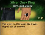 SilverOnyxRing