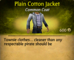 Plain Cotton Jacket2