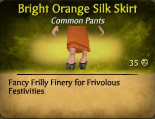 File:Bright Orange Silk Skirt.jpg