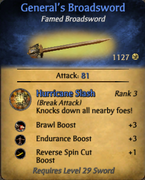 General's Broadsword - clearer