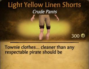 File:Light Yellow Linen Shorts.jpg