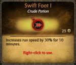 Swift Foot I card