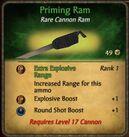 Priming Ram