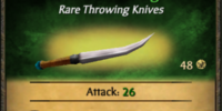 Wilderness Throwing Knives