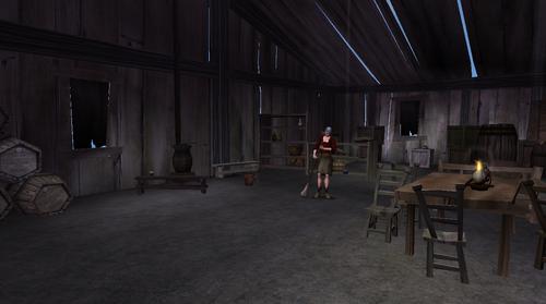 Millie's cottage interior