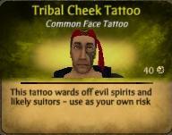File:Tribal Cheek Tattoo.JPG