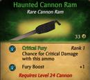Haunted Cannon Ram