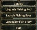Fishingmenu