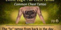Ethnic Eagle Full Chest Tattoo