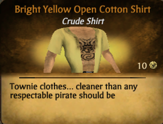 File:Bright yellow open cotton shirt.png