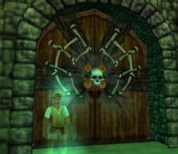 Entrance to El Patron's ship