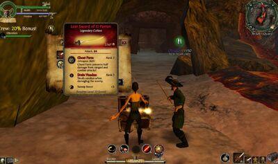 Loot Lost Sword of El Patron