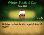 Winter Festival CapM