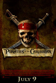 Pirates of the Caribbean- The Curse of the Black Pearl Poster