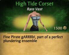 F High Tide Corset