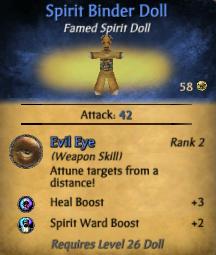 Spirit Binder Doll Updated