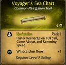 Voyager's Sea Chart