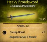 Heavy Broadsword