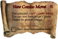 Scroll NewComboMove