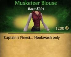 F Musketeer Blouse