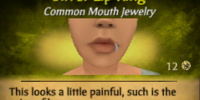 Silver Lip Ring